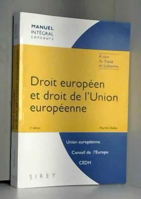 Droit européen et droit de...