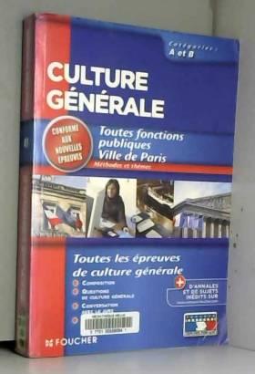 Culture générale: Toutes...