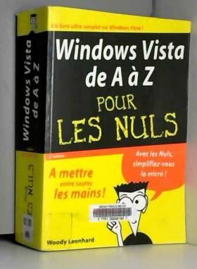 Windows Vista de A à Z pour...