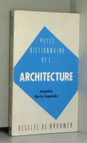 Petit dictionnaire de...