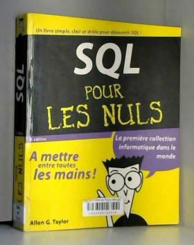 SQL pour les nuls