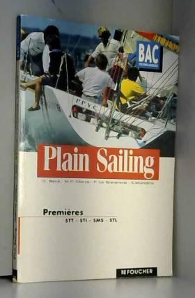 Plain sailing, 1ère (Ouvrage)