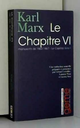 Le Chapitre VI : Manuscrits...