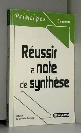 Réussir la note de synthèse