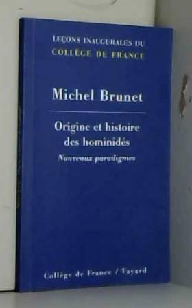 Origine et histoire des...