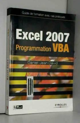 Excel 2007 : Programmation...