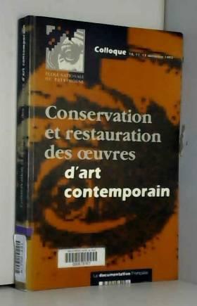 Conservation et...
