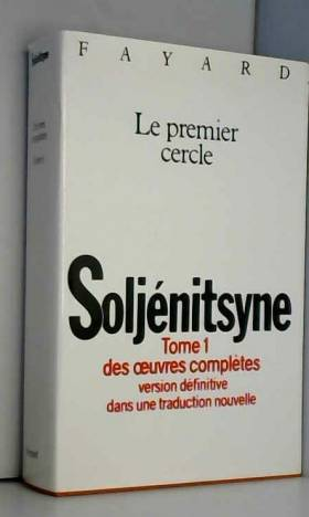 Oeuvres complètes, tome 1 :...