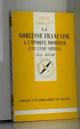 La noblesse française à...