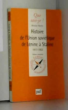 Histoire de l'Union...