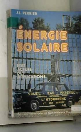 Energie solaire et...