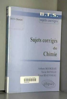 Sujets Corrigés de Chimie :...