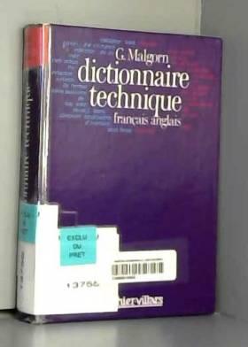 DICTIONNAIRE TECHNIQUE...
