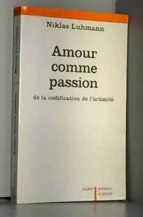 Amour comme passion
