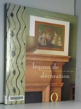 Leçons de décoration