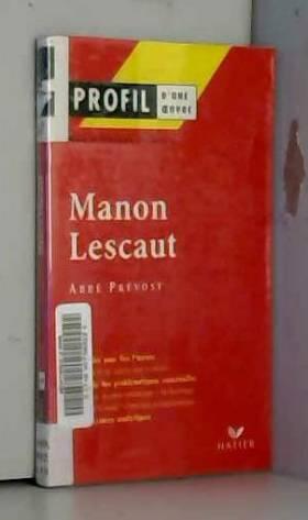 Profil d'une oeuvre : Manon...