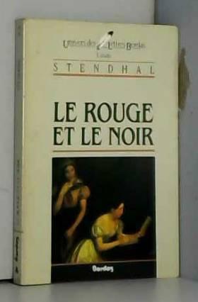 STENDHAL/ULB ROUGE NOIR...