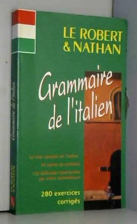 GRAMMAIRE DE L'ITALIEN :...