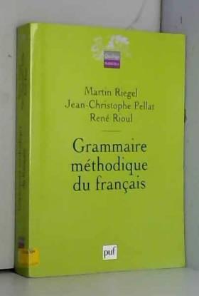 Grammaire méthodique du...