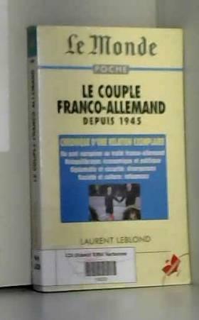 Le couple franco-allemend...