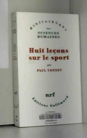 Huit Leçons sur le sport