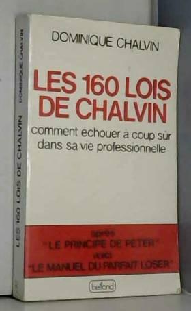 Les 160 lois de Chalvin