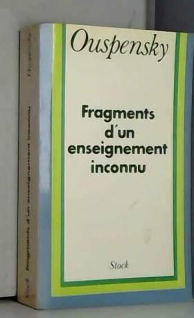Fragment d'un enseignement...