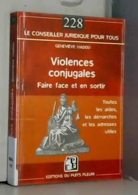 Violences conjugales: Faire...