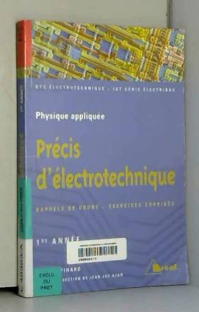 Précis d'électrotechnique...