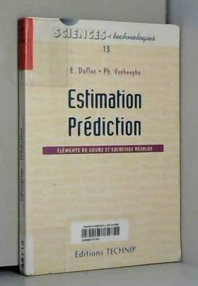 Estimation, prédiction :...