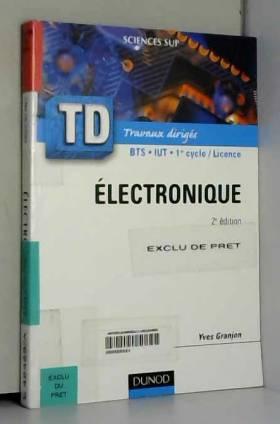 TD d'électronique : Rappels...