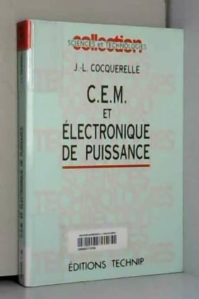 CEM et électronique de...