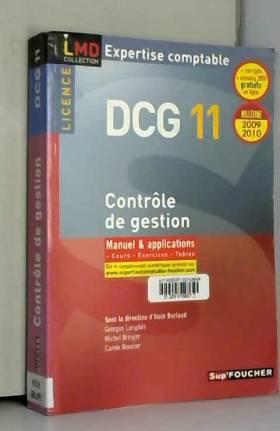 DCG 11 Contrôle de gestion...