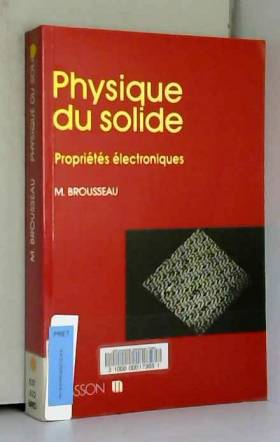 Physique du solide....