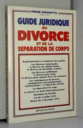 Guide juridique du divorce...