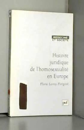 Histoire juridique de...