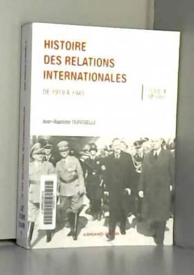 Histoire des relations...