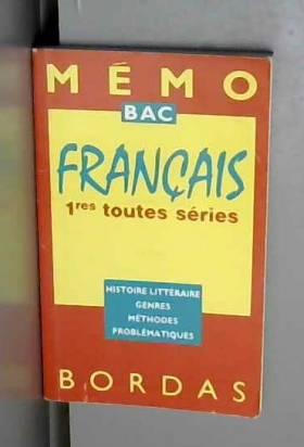 MEMO 52 FRANCAIS 1ERE...