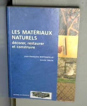 Les matériaux naturels :...