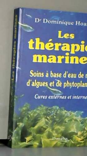 Les thérapies marines