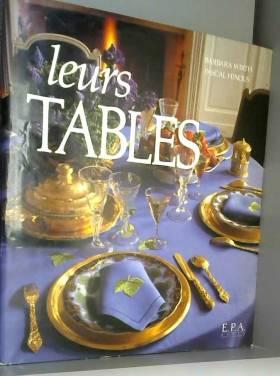 Leurs tables