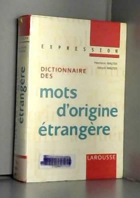 Dictionnaire des mots...