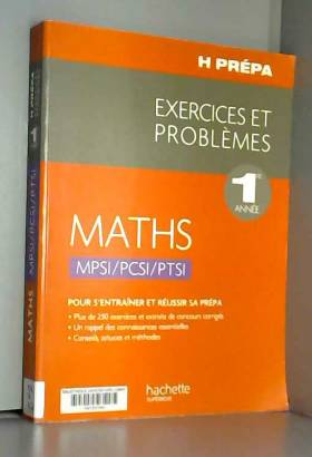 Maths 1re année...