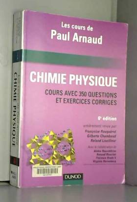 Chimie Physique : Les cours...