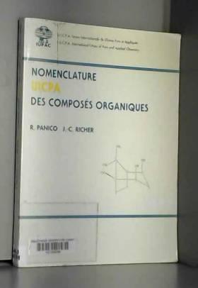 Nomenclature UICPA des...