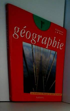 GEOGRAPHIE 1ERE LA FRANCE...