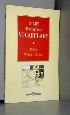 Start testing vocabulary 100397