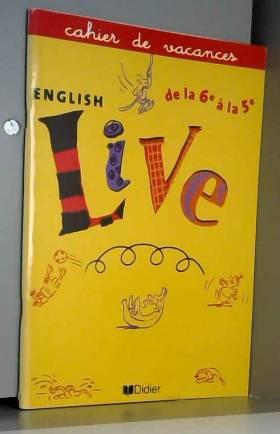 Cahier de vacances, English...
