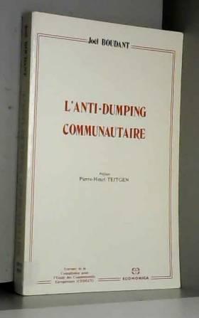 L'anti-dumping communautaire