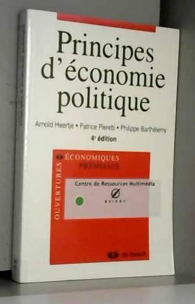 Principes d'économie...